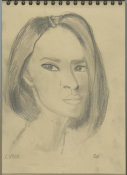 Kraft test - Woman face study n103 by lv888