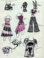 FASHION- Pink Skink collection by Dracornasus
