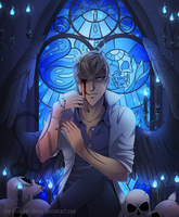 The blind prophet by The-cannibal-sheep