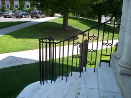 Stair and Railing by RD-Stock