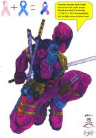Deadpool  vs Cancer      colab by CDL113
