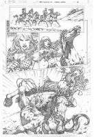 Red Sonja #73 pg 16 by MARCIOABREU7