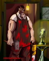Leatherface by chriscrazyhouse