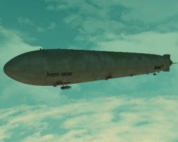 Airship 'Blind Obedience' by LtJim