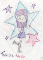 Twiligth sparkle in my style by mexicangirl12