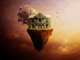 Floating House by tcaliloria
