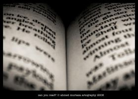 Can You Read? by mentallydeceased