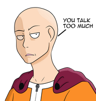One Punch Man by IkeTheWarrior