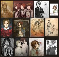 Sketch Dump 01-hetalia- by Coffeshere