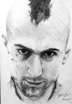 Travis Bickle  (Taxi Driver) by tahiz