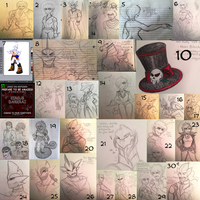 C-D : Sketches N' Stuff 5 by Zap-Zap-Forever