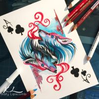 97- Ace of Clubs by Lucky978