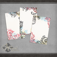 Decadent Journal Cards by DaydreamersDesigns