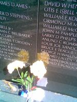 Vietnam Memorial by glidderbug