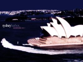 Sydney Harbor by IkeGFX