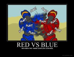 Red vs Blue by Fellows-House