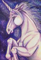 ACEO: Violet Heavens by DanielleMWilliams