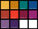 Kells Color Palette by SynCallio