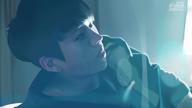 Nam Woohyun The Eye by nepterine7