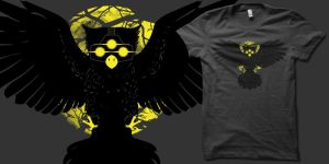 Midnight Owl-Ops t shirt by biotwist