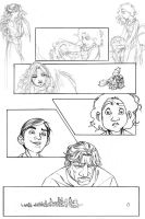 The Impression pg10 rough pencils by MMHudson