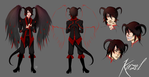 Character Sheet: Kazel by punkypeggy