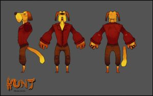Hound Turnaround by Eliket