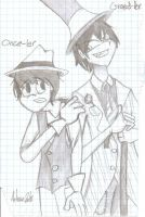 Onceler and Greedler by Auzzy71