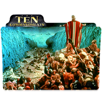 Folder Icon Ten Commandments by PeterPawn