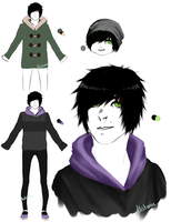 Some guy's reference sheet by Histunie