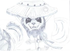 Pandaren Monk by Dousey11