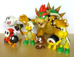 Koopa Troop by ClayPita