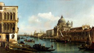 View of the Grand Canal by CouchyCreature