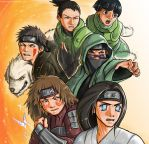Stand Together : Naruto Boys by musechan
