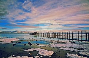 Tahoe City Pier by mistakeablyme