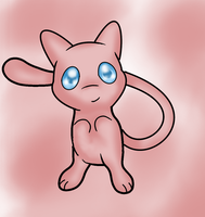 Mew by ICEDRAGON164