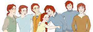 The Weasley Kids by Nanamy