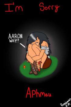 Aphmau Crying (R.I.P Aaron) by roselover404