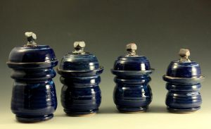 Canisters:  Gun Metal Blue by Evalad