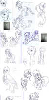 Biweekly School Sketches 8 by FrostheartIsSiamese