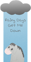 Eeyore Bookmark by AquaQueen27