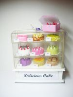 mini cake shop by PetiteCreation