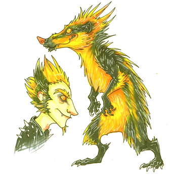 terrence the tenrec by Anklebones