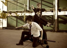 Ao no Exorcist: family battle by ihitoq