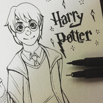 10/04 - Harry Potter by Chocolace