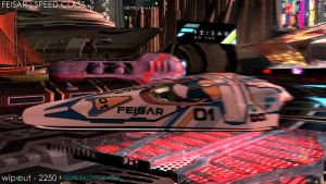 WIPEOUT : FEISAR : SPEED CLASS : circa 2250 by fran444
