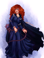 Merida WIP by m-angela