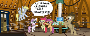 Cutie Mark Crusader Time Travelers by equestriaguy637