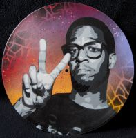Kid Cudi Vinyl by Gcrackle1