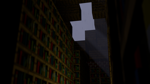 Minecraft Library W/ Rain by Godofnothing513